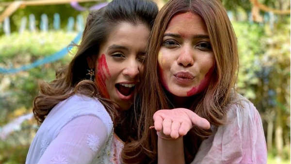 Gujarati Stars Celebrated Holi On Their Own Way See Photos