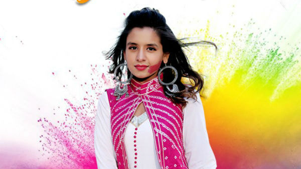 Aishwarya Majmudar Recorded Holi Special Gujarati Song