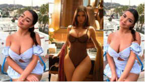 Demi Rose Topless And Nude Photos Set Fire On Instagram