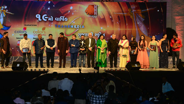 Transmedia Screen Awards Attended By Gujarati Cinema Start