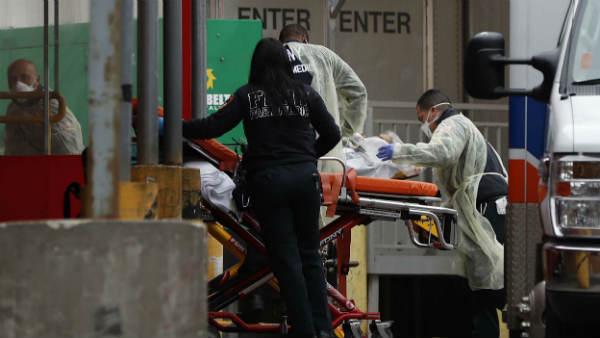 અમેરીકામાં કોરોના વાયરસે મચાવ્યો કહેર, એક દિવસમાં 1500 લોકોના મોત