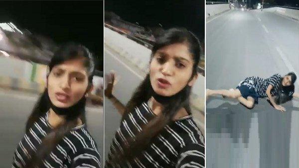 'મોદીજી લૉકડાઉન ખોલો', અમદાવાદમાં બ્રિજ પર સૂઈને યુવતીએ બનાવ્યો Video
