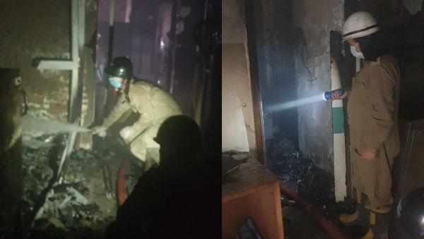 દિલ્હી: કોવીડ -19 સમર્પિત હોસ્પિટલમાં લાગી આગ, 7 દર્દીઓનો બચાવ