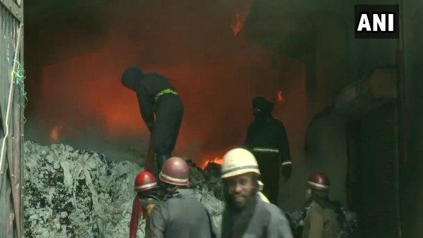 લુધિયાણામાં કાપડની મિલમાં ભીષણ આગ લાગી, ફાયર બ્રિગેડની 10 ગાડી ઘટના સ્થળે પહોંચી