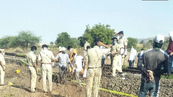 Maharashtra: ઔરંગાબાદમાં ટ્રેનની અડફેટે 15 મજૂરના મોત