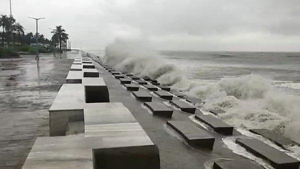 Cyclone Nisarg Imd Says Become Dangerous Mumbai On Red Alert Heavy Rain In Maharashtra Gujarat