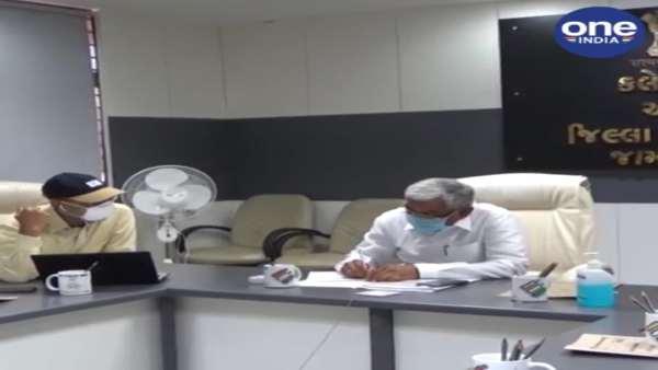 ગુજરાત સરકારની વીડિયો કૉન્ફરન્સ દ્વારા 9મી કેબિનેટ બેઠક સંપન્ન