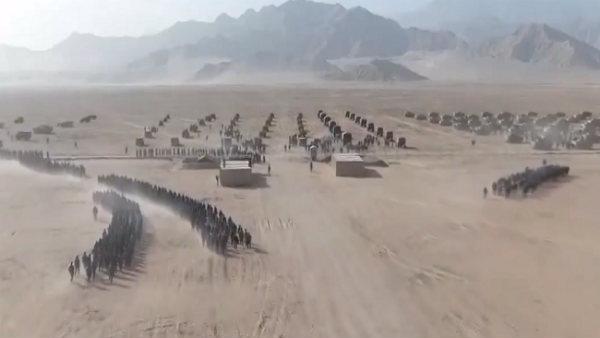 ચીનની ડર્ટી ગેમ, વાર્તાલાપ વચ્ચે બોર્ડર પર હજારો કમાંડોનો વીડિયો જાહેર કર્યો
