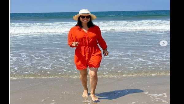 સમુદ્ર કિનારે સની લિયોને પતિ ડેનીયલ સાથે શેર કર્યા રોમેન્ટીક Pics