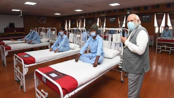 'લેહ હોસ્પિટલ વિવાદ' પર આવ્યુ સંરક્ષણ મંત્રાલયનુ નિવેદન