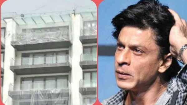શાહરૂખ ખાનનુ 'મન્નત' થયુ પ્લાસ્ટિકથી કવર, જાણો શું છે કારણ?