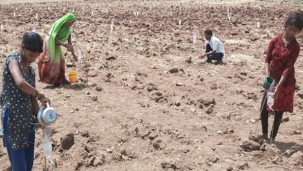 Madhya Pradesh Farmer Earning Millions Of Rupees By Waste Bottle Of Glucose