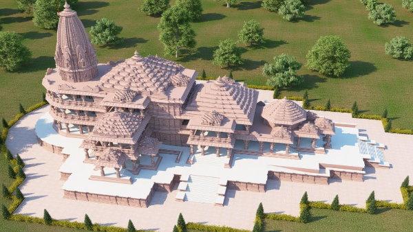 PHOTO: જારી થયા અયોધ્યામાં ભવ્ય રામ મંદિરના મૉડલના ફોટા