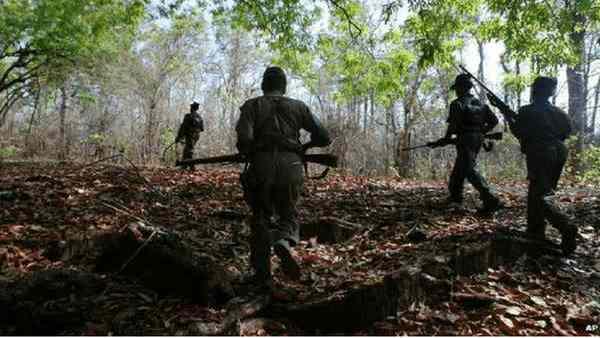 છત્તીસગઢ: સુરક્ષા દળો સાથેના એન્કાઉન્ટરમાં ચાર નક્સલીઓ માર્યા ગયા