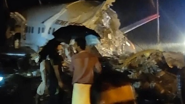 Air India Plane Crashes In Kozhikode Kerala 191 Passengers On Board