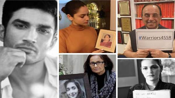 Online Protest For Sushant Many Celebrities Including Ankita Lokhande Zareen Khan Involved