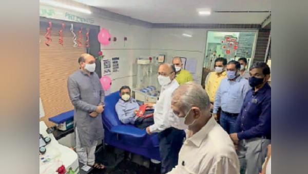 ગુજરાતના એક ડૉક્ટરે 75મી વાર ડોનેટ કર્યુ પ્લાઝમા, ઘણા લોકોના બચાવ્યા જીવન