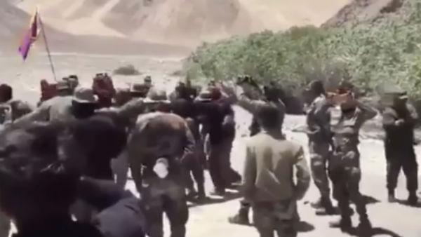 Video: લદ્દાખમાં ચીનને પરાસ્ત કર્યા બાદ ડાંસ કરતા સ્પેશિયલ ફોર્સના તિબેટિયન સૈનિક