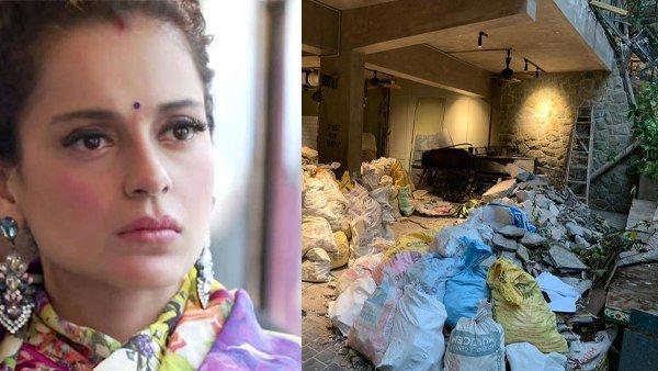 કંગનાએ શેર કરી પોતાની ઓફીસની તસવીરો, કહ્યું - મંદીરને કબ્રસ્તાન બનાવી દીધુ