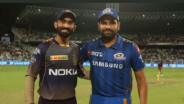 MI vs KKR: દિનેશ કાર્તિક જીત્યો ટોસ, મુંબઈ કરશે પ્રથમ બેટિંગ