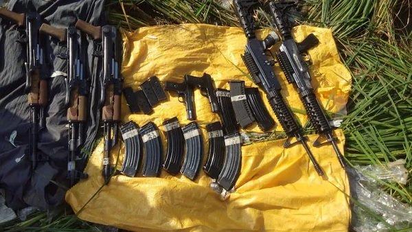 BSFએ પાકિસ્તાન સીમા પાસે હથિયારોનો જથ્થો કર્યો જપ્ત