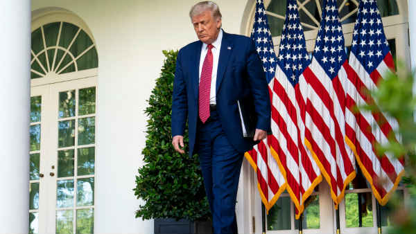 US Presidential Election: ચૂંટણીના એક અઠવાડિયા પહેલાં ડોનાલ્ડ ટ્રમ્પની કેમ્પેન વેબસાઈટ હેક