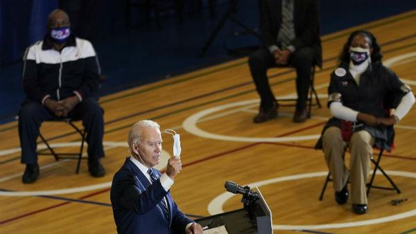 US Election 2020: બિડેન બોલ્યા- ચૂંટણી જીત્યો તો ફ્રીમાં કોરોના વેક્સીન આપીશ