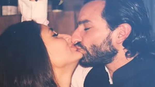 સૈફ અલી ખાન- કરીના કપૂરની સનસની મચાવી દેતી KISSના ફોટા