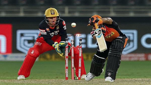 IPL 2020 RCB vs SRH:  બેંગલોર સામે સનરાઇઝર્સ હૈદરાબાદની આસાન જીત