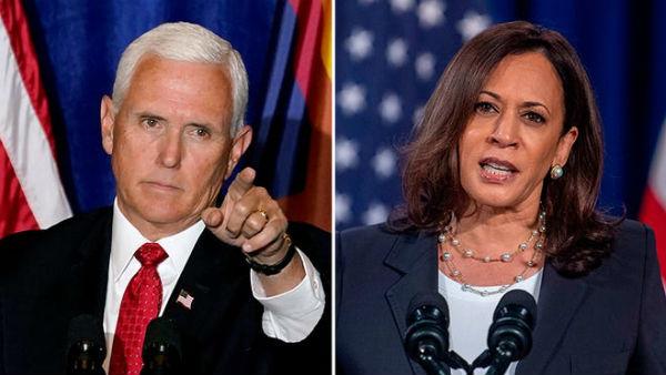 US Elections: કમલા હેરિસે માઈક પેંસને કોરોના મુદ્દે ઘેર્યા