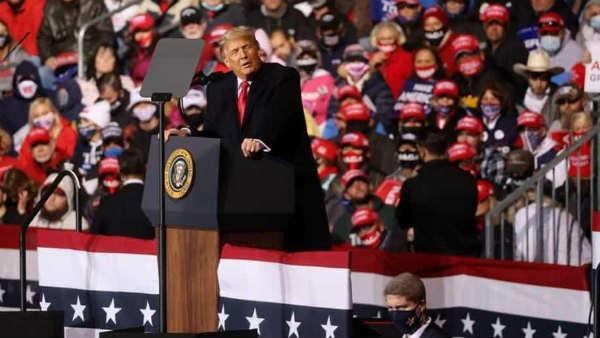 US Election 2020: ફ્લોરિડામાં ટ્રમ્પ અને બિડેન વચ્ચે ટાઈની સ્થિતિ, રેલીમાં જીતના દાવા