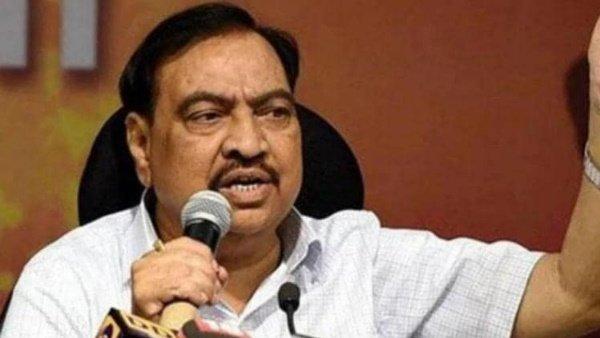 મહારાષ્ટ્રઃ BJPને ઝટકો, એનસીપીમાં શામેલ થશે પૂર્વ મહેસૂલ મંત્રી એકનાથ ખડસે
