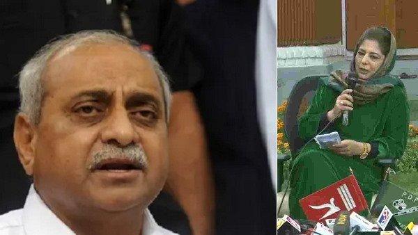 ઉપ મુખ્યમંત્રી નિતિન પટેલે મહેબૂબી મુફ્તીને કહ્યુ - ભારત પસંદ ના હોય તો પાકિસ્તાન જતા રહો