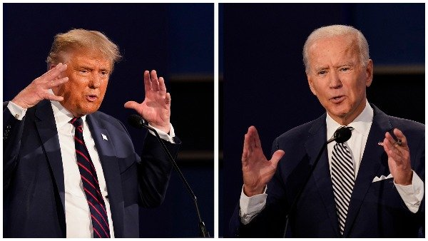 US Election: ચૂંટણી પહેલા ટ્રમ્પ અને બિડેન વચ્ચે ફાઈનલ પ્રેસિડેન્સિયલ ડિબેટ, જાણો કોણે શું કહ્યુ