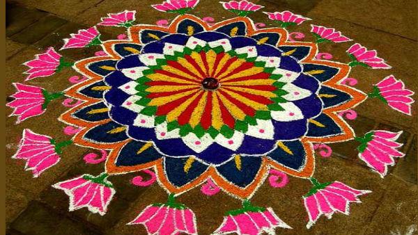 Diwali Rangoli Pics: આ દિવાળી પર બનાવો રંગોળીની આ ડિઝાઈન