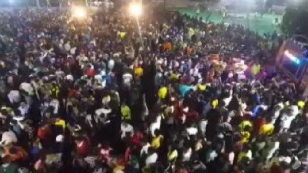 ગુજરાતઃ ભાજપ નેતાની પૌત્રીની સગાઈમાં 6 હજારથી વધુ લોકો ભેગા થયા