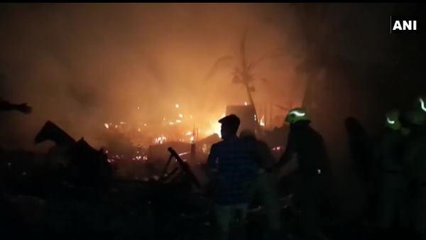 અમદાવાદઃ વટવાની કેમિકલ ફેક્ટરીમાં આગ, થયા 9 ધમાકા