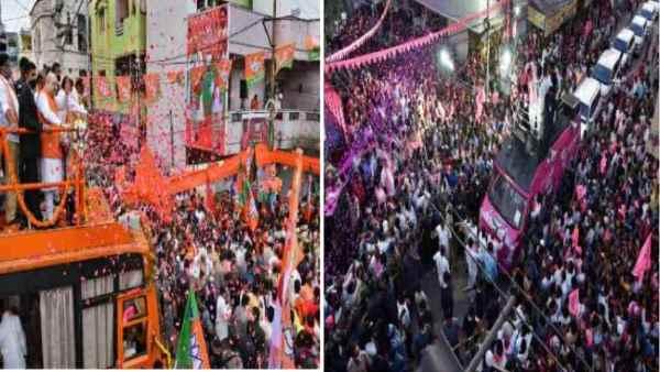 Hyderabad election: ટીવી પર ભાગ્યનગર વિ હૈદરાબાદ પર નેતાઓ આવ્યા સામસામે