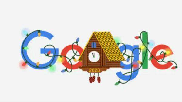 Google Doodle on New Year's Eve 2020: વર્ષ 2020ના છેલ્લા દિવસે 'ગૂગલે' બનાવ્યુ સુંદર 'ડૂડલ'