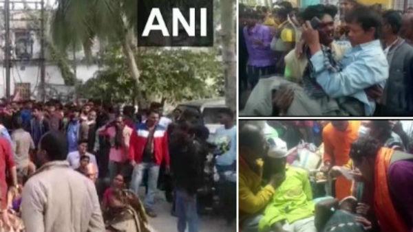 West Bengal: નંદીગ્રામમાં ભીડાયા TMC અને BJPના કાર્યકર્તા