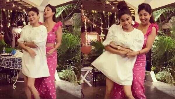 Video: શિલ્પા શેટ્ટીનો બહેન શમિતા શેટ્ટી સાથે ડાંસ વીડિયો થયો વાયરલ
