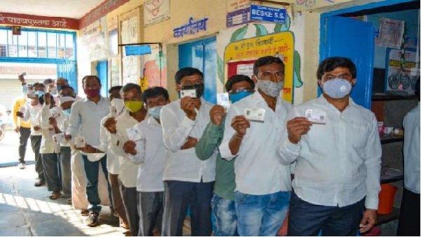 Maharashtra Panchayat Election: શિવસેનાએ તેની લીડ વધારી, 330 બેઠકો પર આગળ