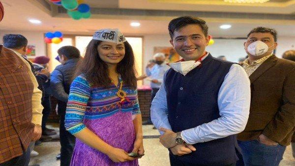 આમ આદમી પાર્ટીમાં શામેલ થઈ મિસ ઈન્ડિયા દિલ્લી 2019 માનસી સહેગલ
