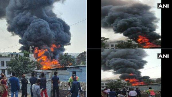 પૂણેના બીબવેવાડી સ્થિત ગોદામમાં લાગી ભિષણ આગ, ફાયર બ્રિગેડની 6 ગાડીયો ઘટનાસ્થળે