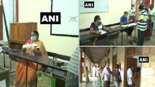 AP Municipal Elections: નગર નિગમ ચૂંટણી માટે મતદાન ચાલુ