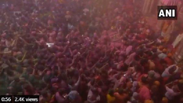Holi 2021: હોળીના રંગમાં રંગાયુ ભારત, જુઓ Pics