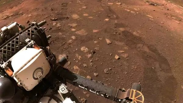 NASAના રોવરે મંગળ ગ્રહ પર કરી પહેલી ડ્રાઈવ, મોકલ્યો 33 મિનિટનો ચોંકાવનારો વીડિયો