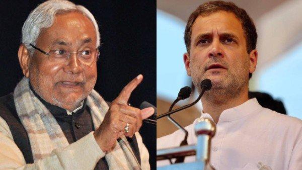 નીતિશ કુમાર સંપૂર્ણપણે RSSમય થઈ ચૂક્યા છેઃ રાહુલ ગાંધી
