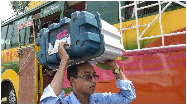 ECની ગાડી પર હુમલા બાદ BJP ઉમેદવારની ગાડીમાં રાખ્યા EVM