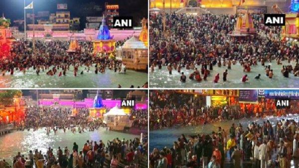 Haridwar Kumbh Mela 2021: આજે ત્રીજુ 'શાહી સ્નાન', ભક્તોએ ગંગામાં લગાવી આસ્થાની ડૂબકી, જાણો મહત્વ